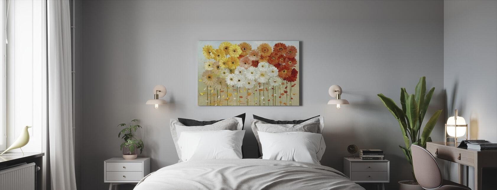 Madeliefjes Val - Canvas print - Slaapkamer