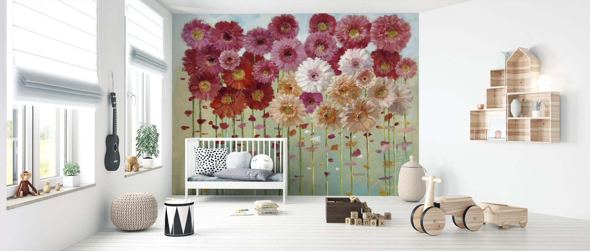 Daisies Spring - Wallpaper - Nursery