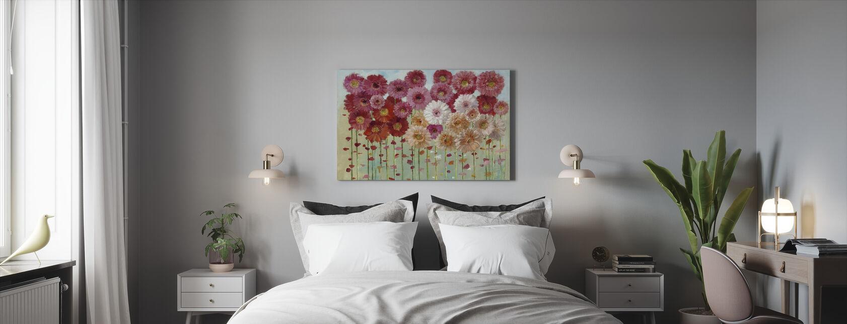 Madeliefjes Lente - Canvas print - Slaapkamer