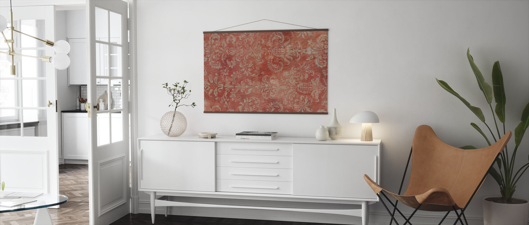 Damask Texture - Poster - Living Room