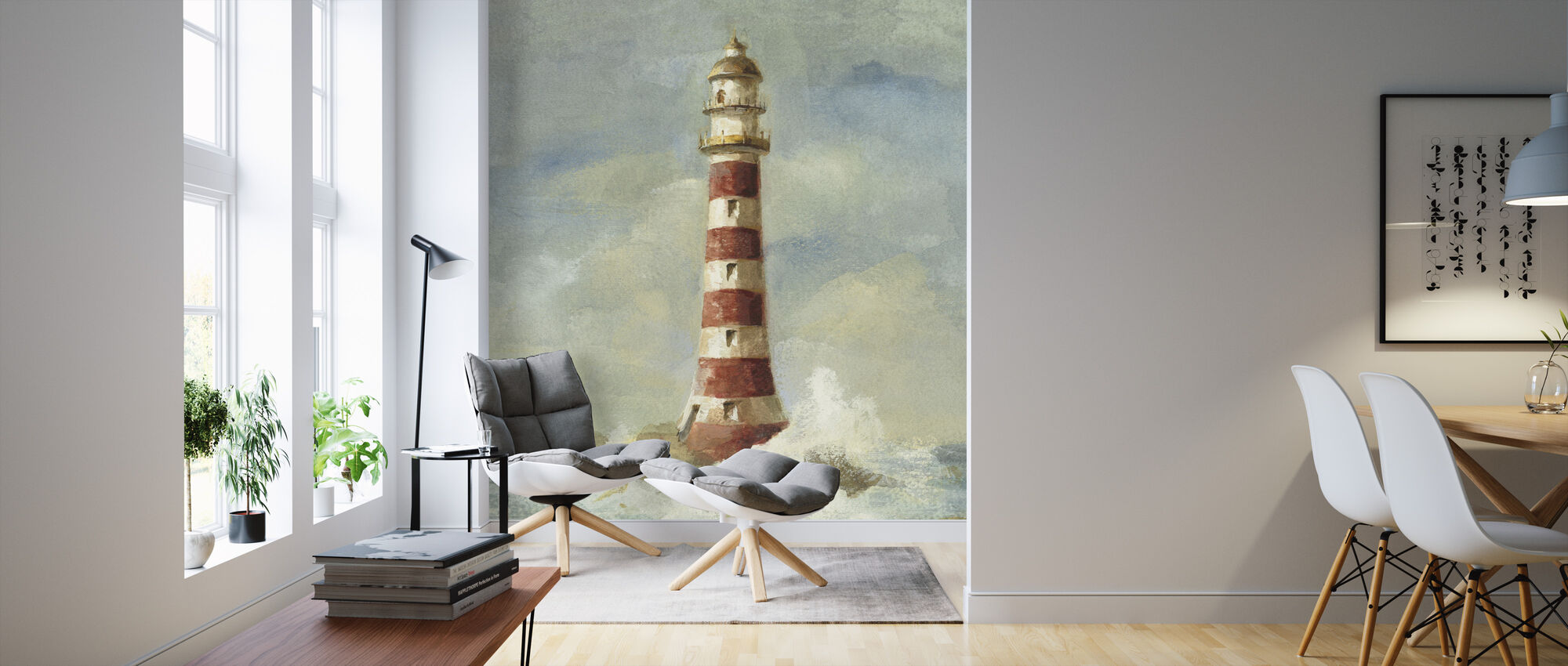 Lighthouse II - Wallpaper - Living Room