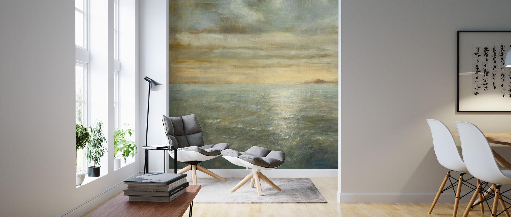 Serene Sea - Wallpaper - Living Room