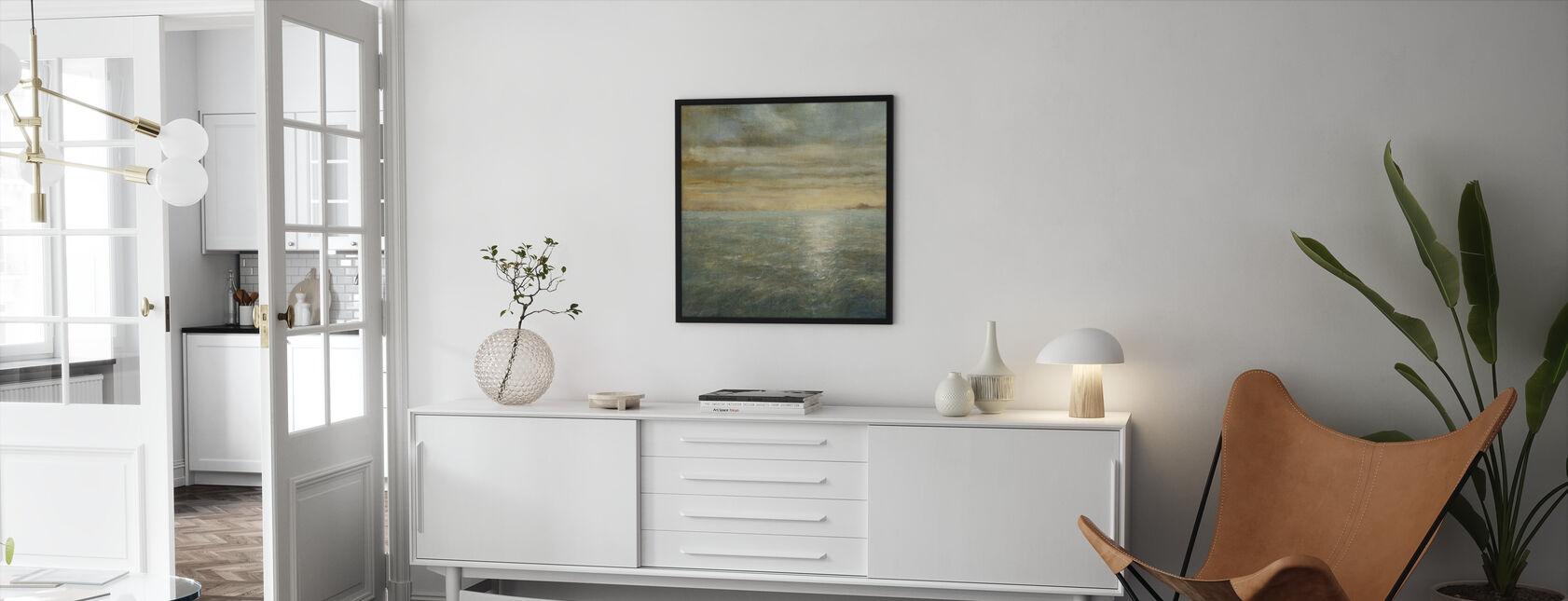Serene hav - Innrammet bilde - Stue