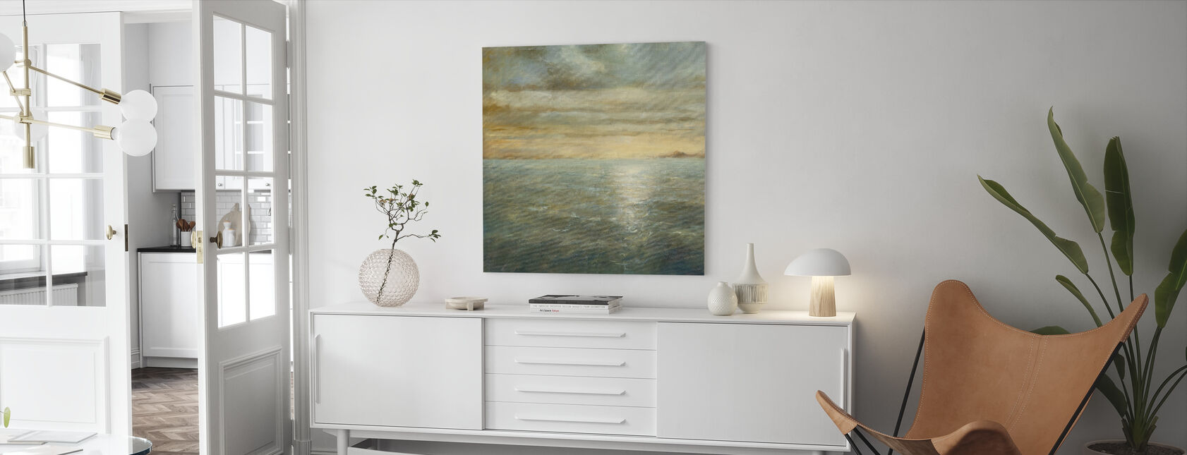 Serene Sea - Canvas print - Living Room