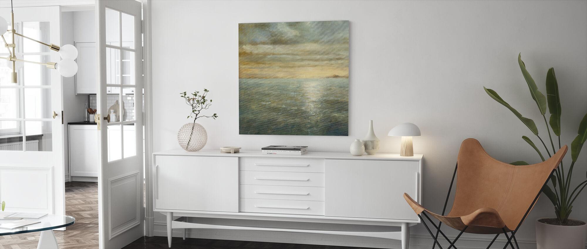 Serene Havet - Canvastavla - Vardagsrum