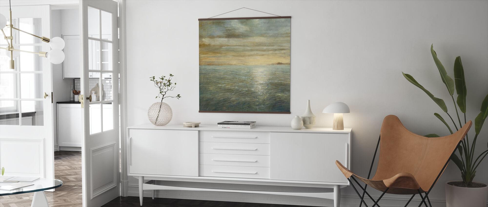 Serene Sea - Poster - Living Room