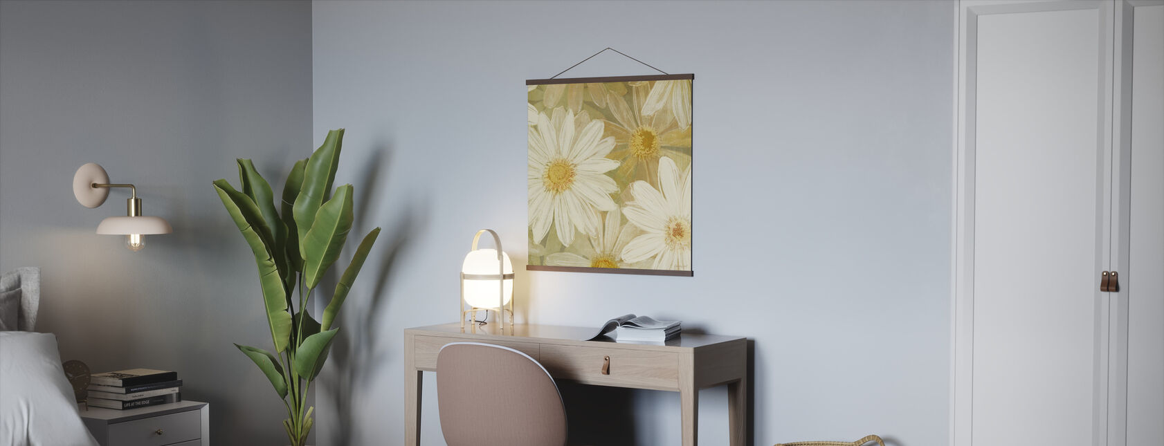 Daisy Story Square II - Poster - Office
