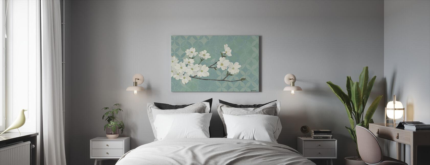 Kornoelje Bloesems - Canvas print - Slaapkamer