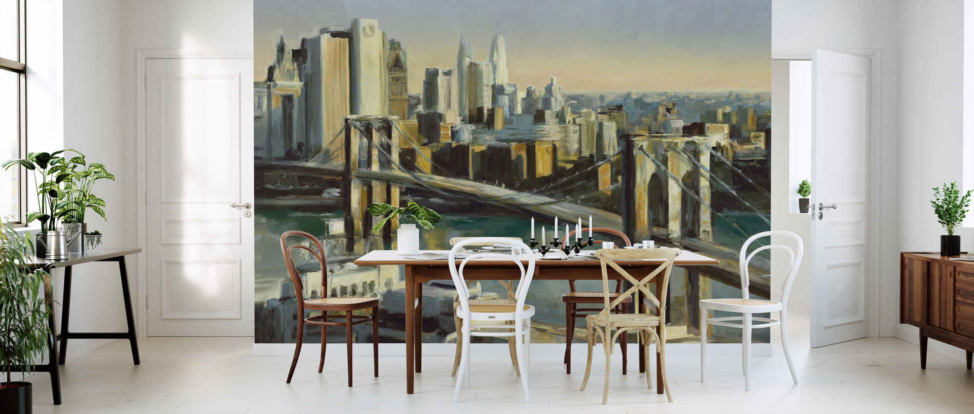 Into Manhattan - Wallpaper - Kitchen
