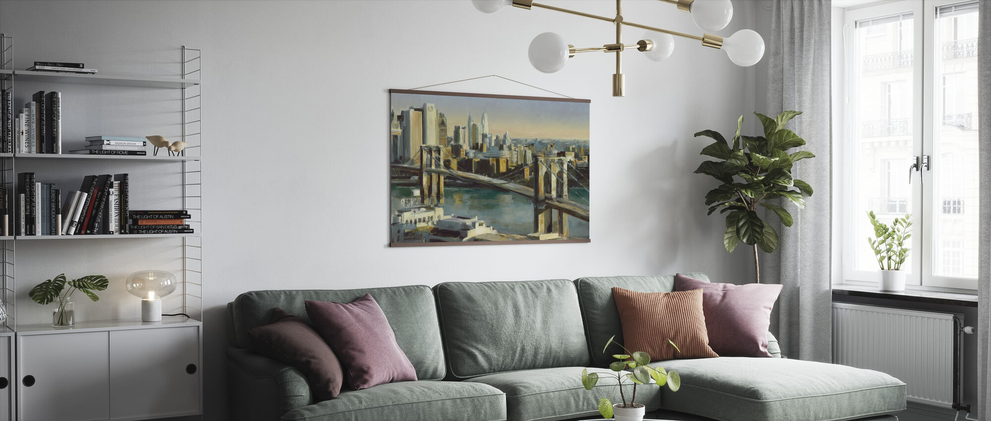 Into Manhattan - Poster - Living Room