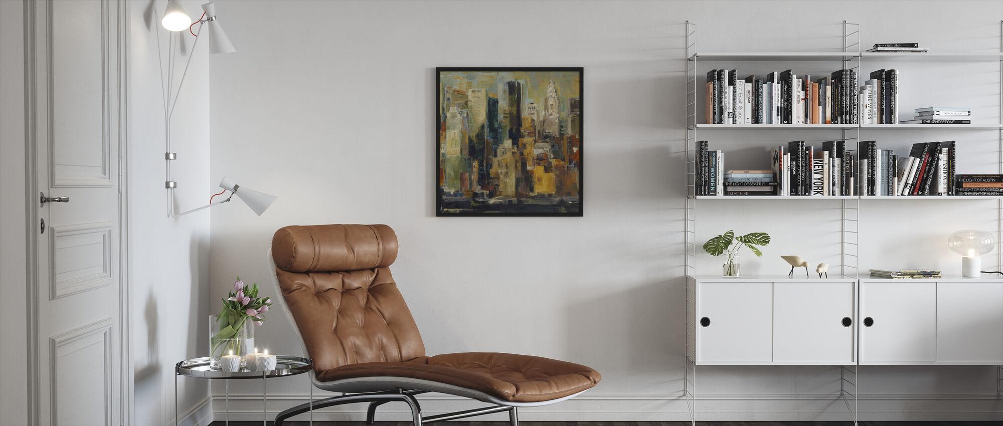 New York - Ingelijste print - Woonkamer