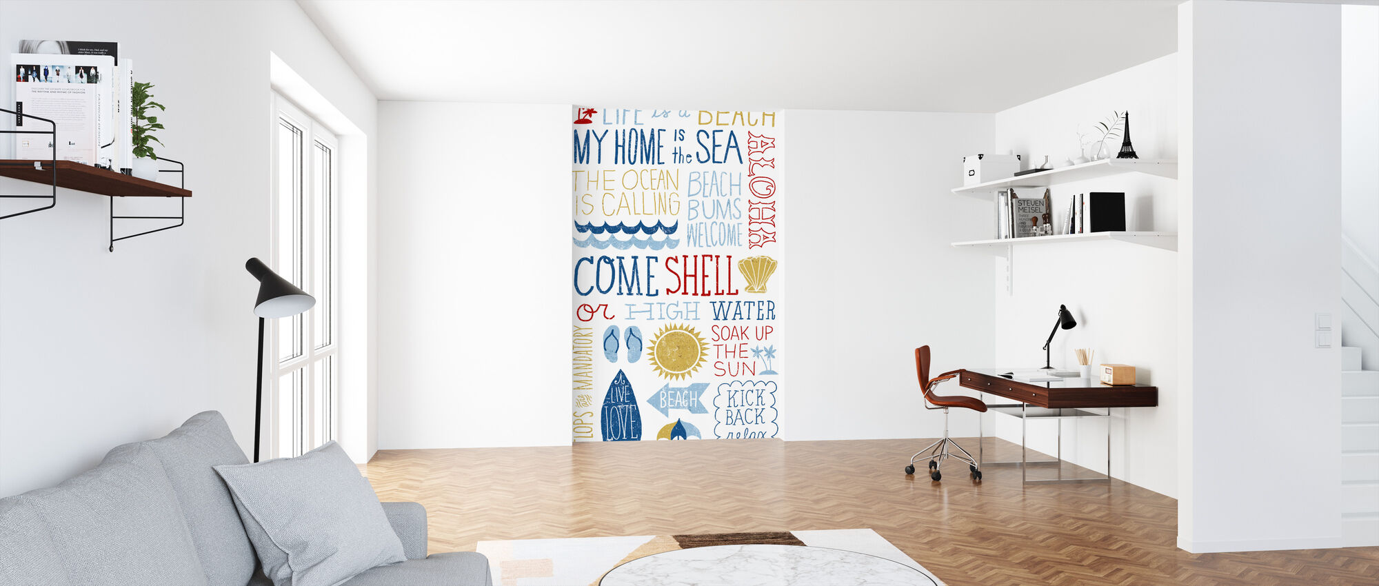 Fun in the Sun - Wallpaper - Office