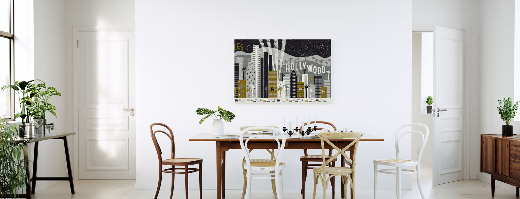Hey Los Angeles - Canvas print - Kitchen