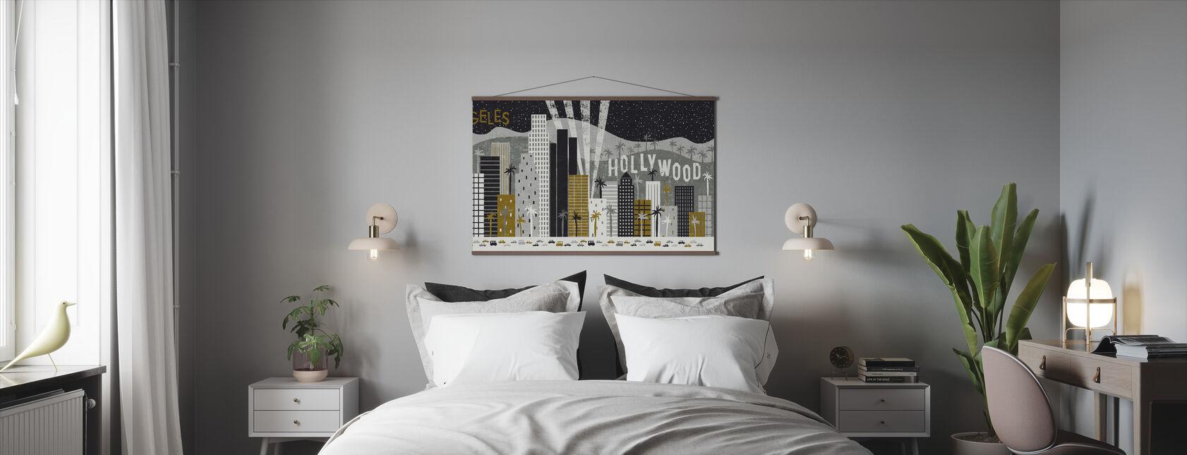 Hé Los Angeles - Poster - Slaapkamer