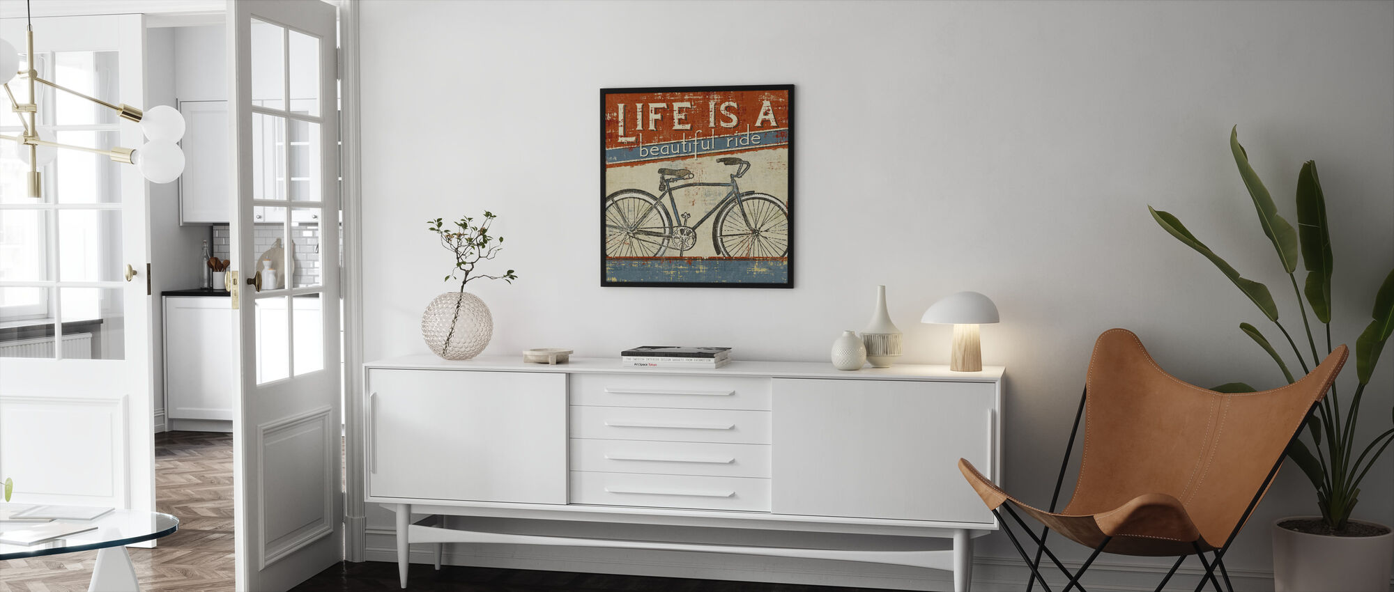 Beautiful Ride I - Framed print - Living Room