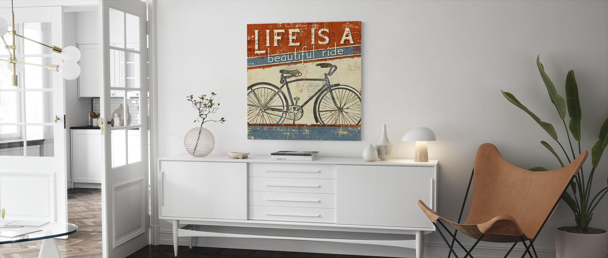 Beautiful Ride I - Canvas print - Living Room
