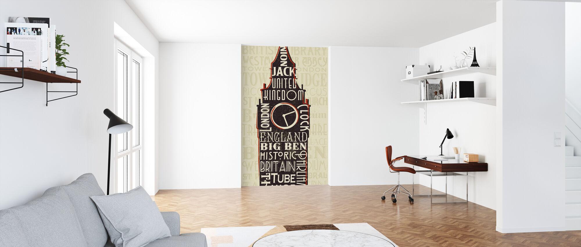 London City Words II - Wallpaper - Office