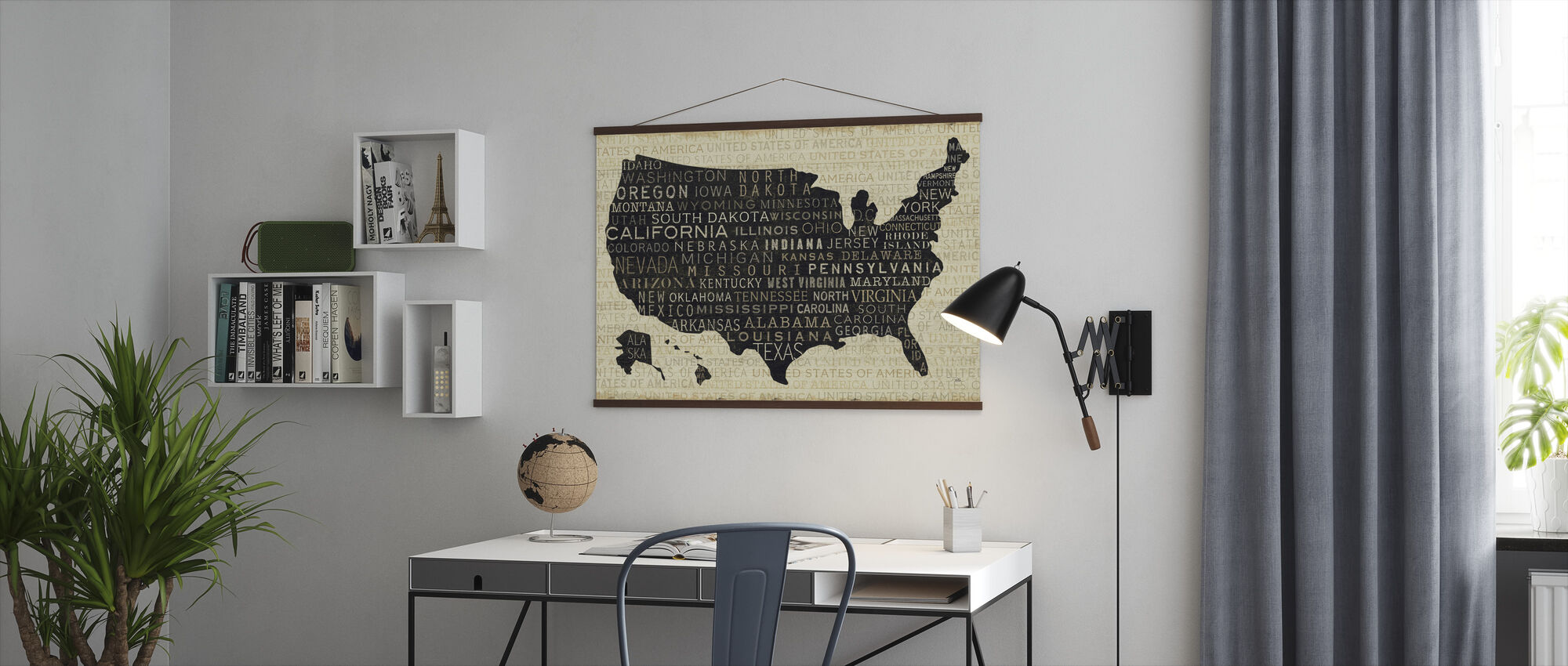 USA V - Juliste - Toimisto