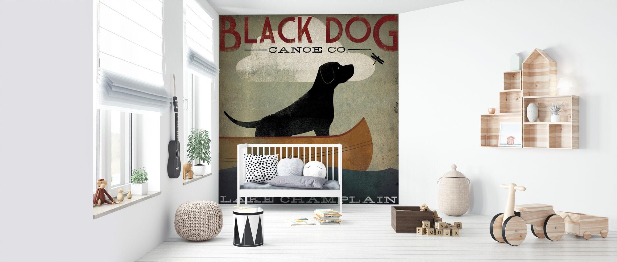 Svart hund sjö Champlain - Tapet - Babyrum