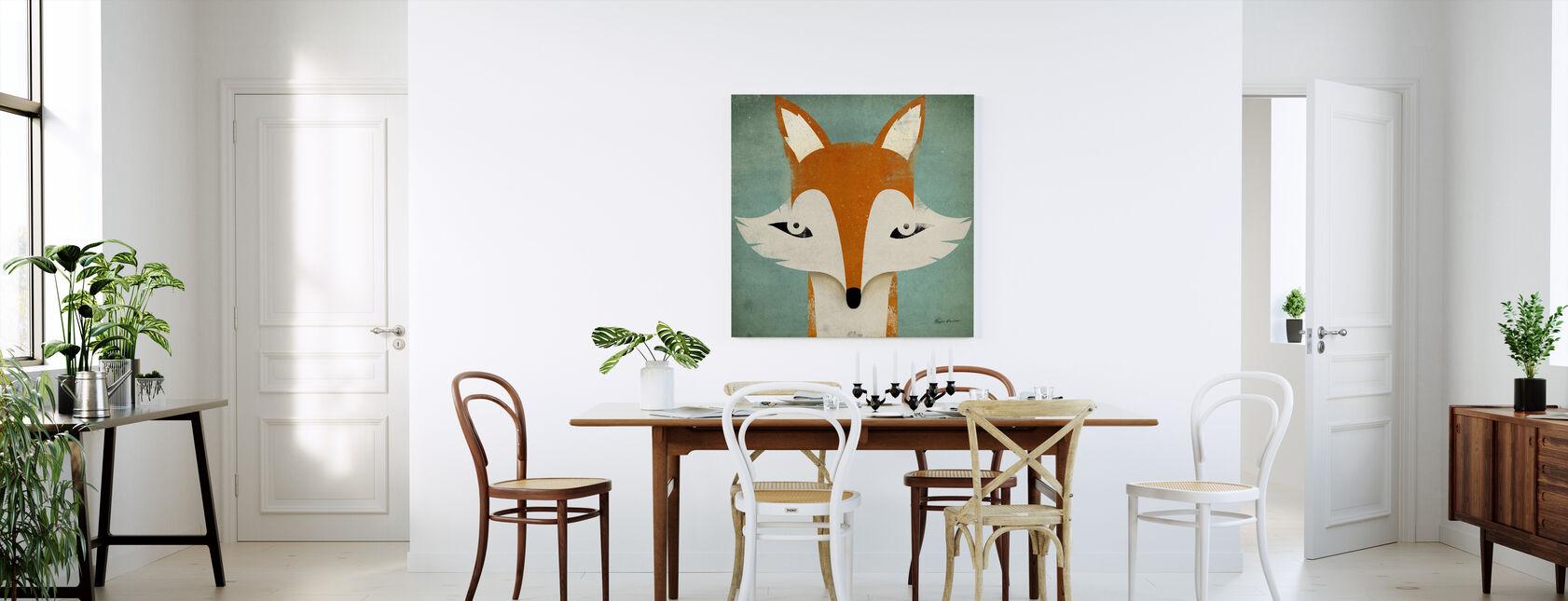 Fox - Canvas print - Kitchen