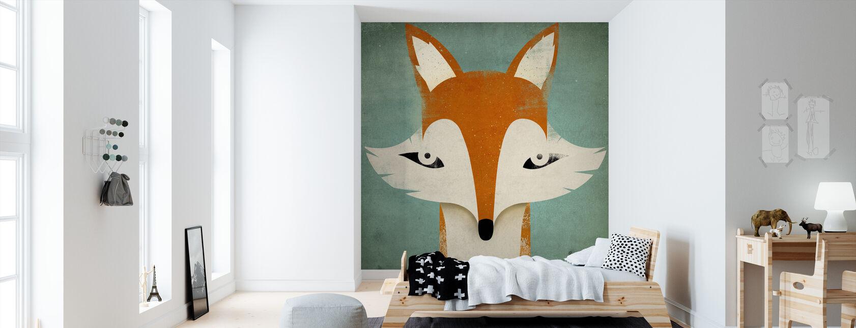 Fuchs - Tapete - Kinderzimmer