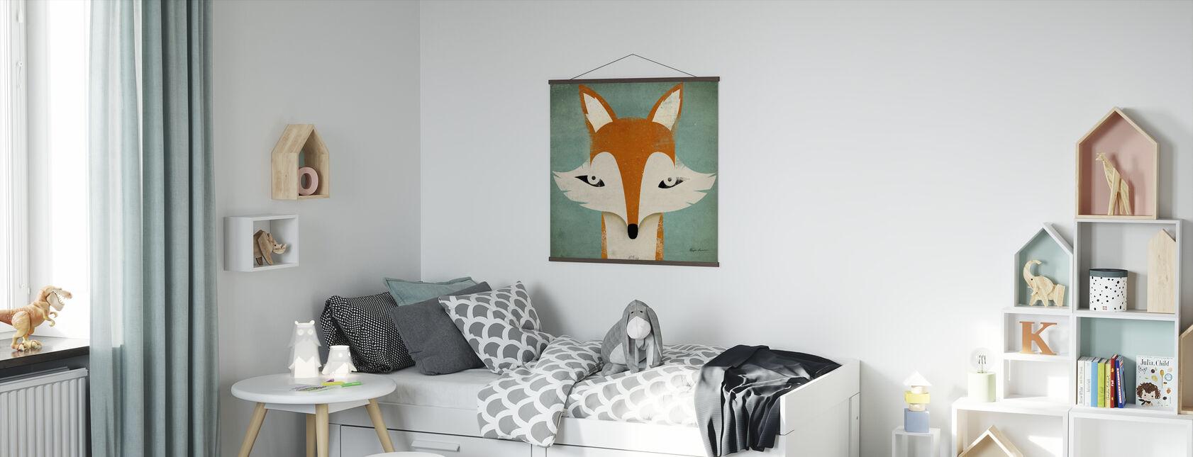 Lis - Plakat - Pokój dziecięcy
