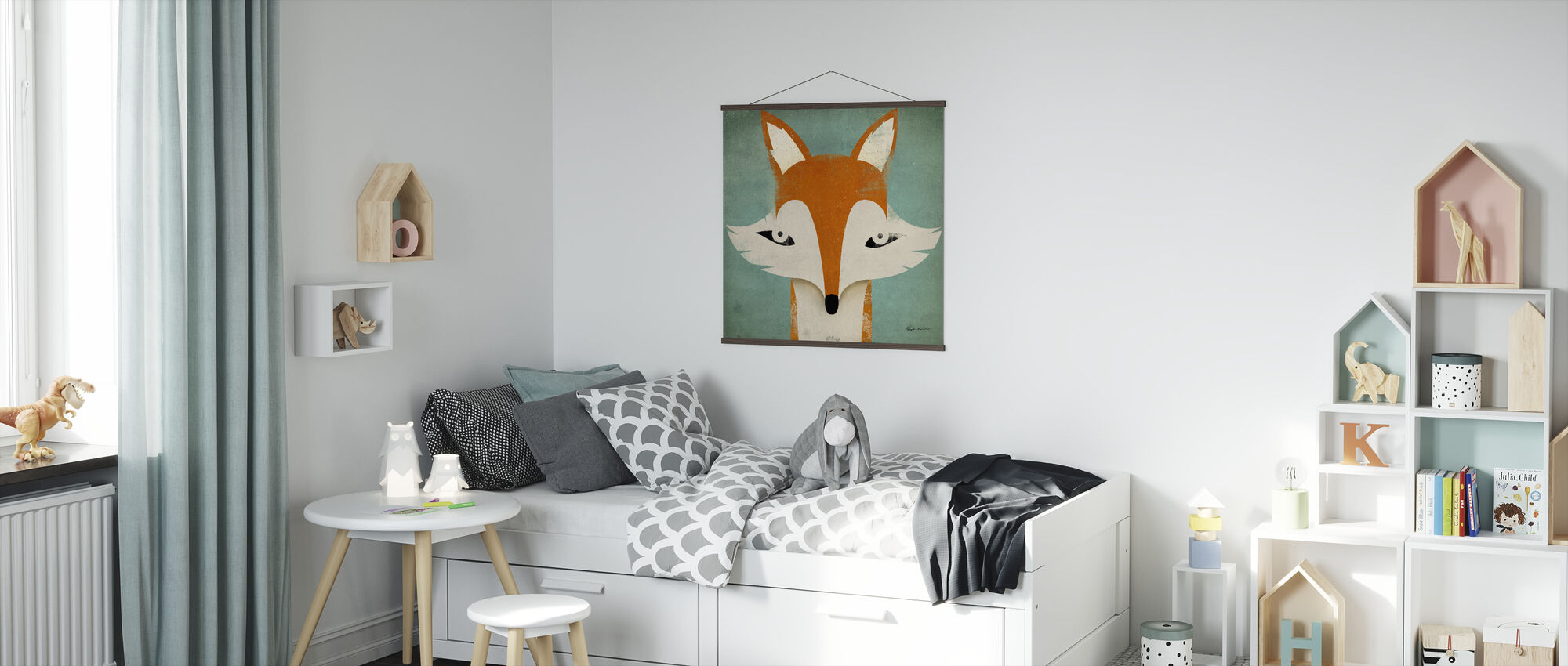 Fox - Poster - Kids Room