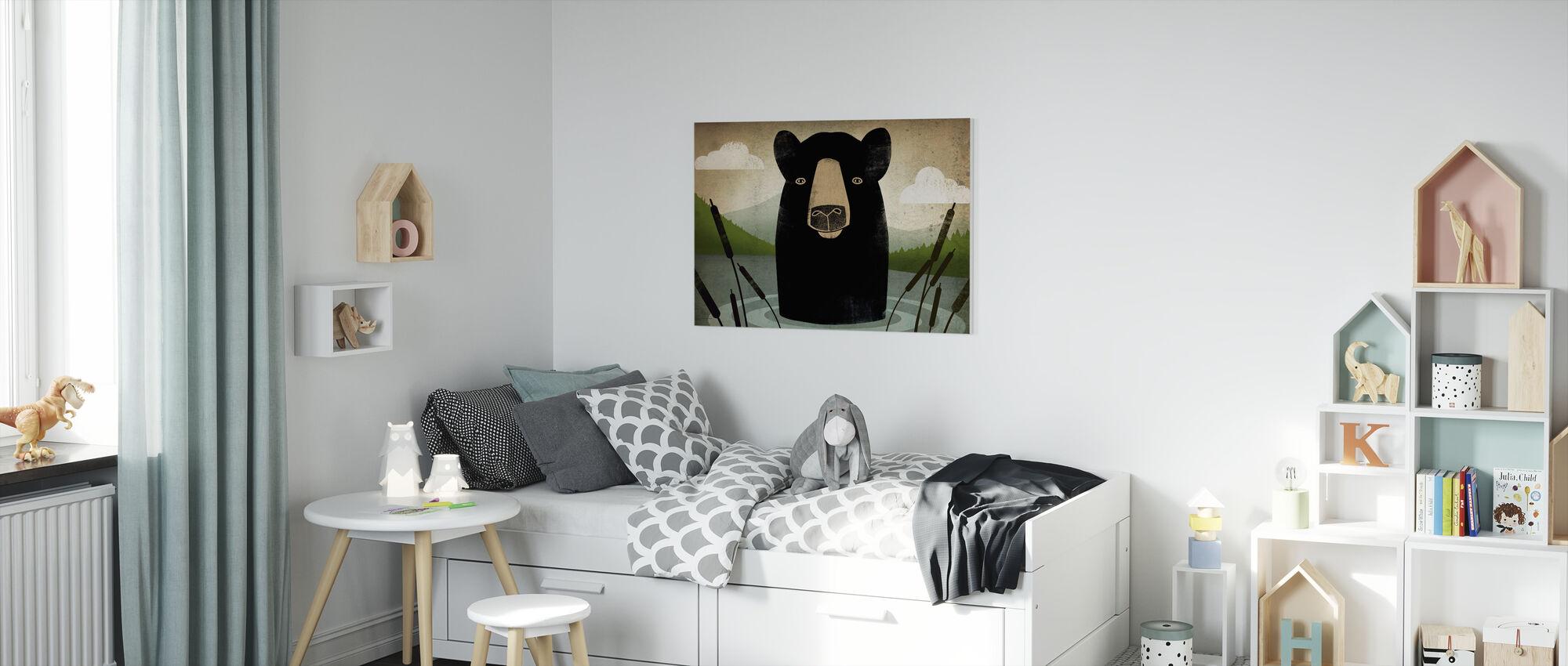 Skinny Dip - Canvas print - Kids Room