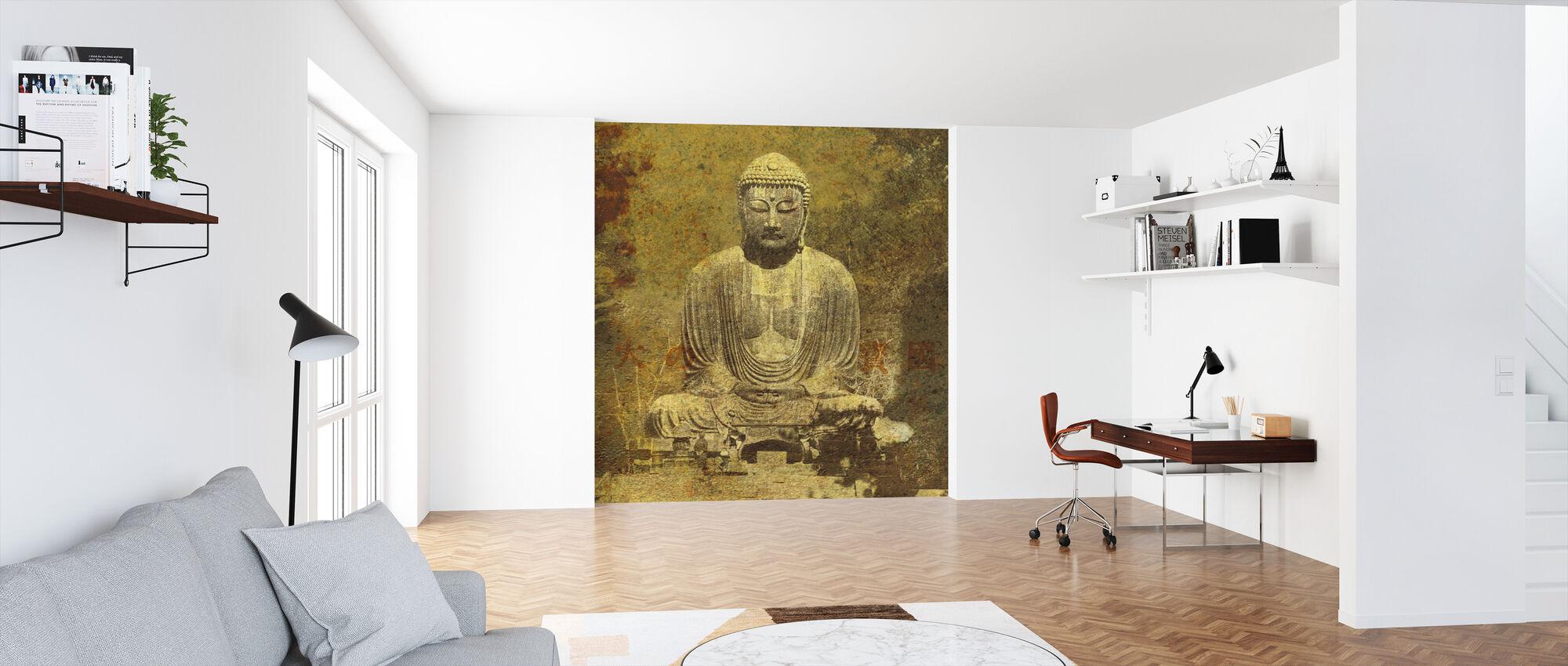 Asian Buddha - Wallpaper - Office