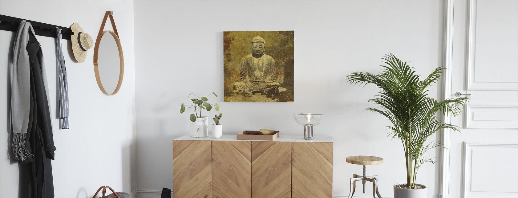 Aziatische Boeddha - Canvas print - Gang