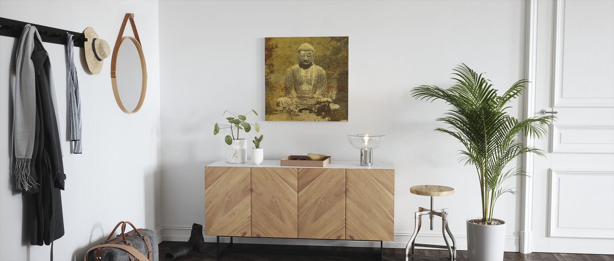 asiatiske buddha - Lerretsbilde - Gang