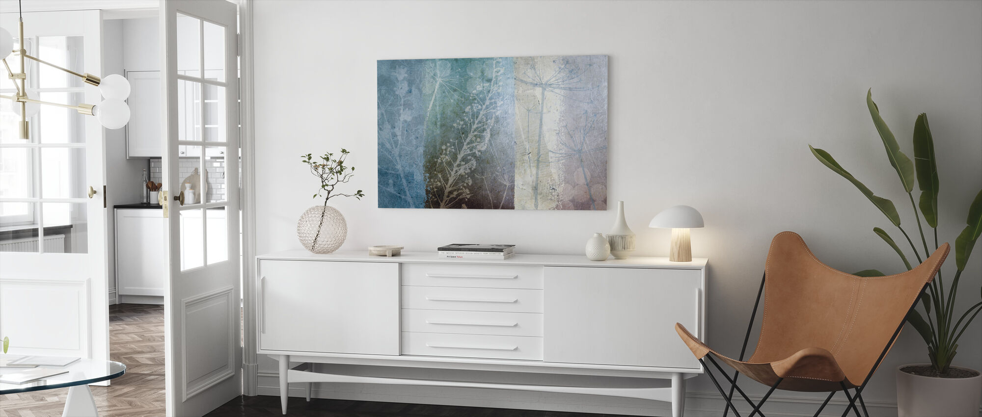 Ethereal - Canvas print - Living Room