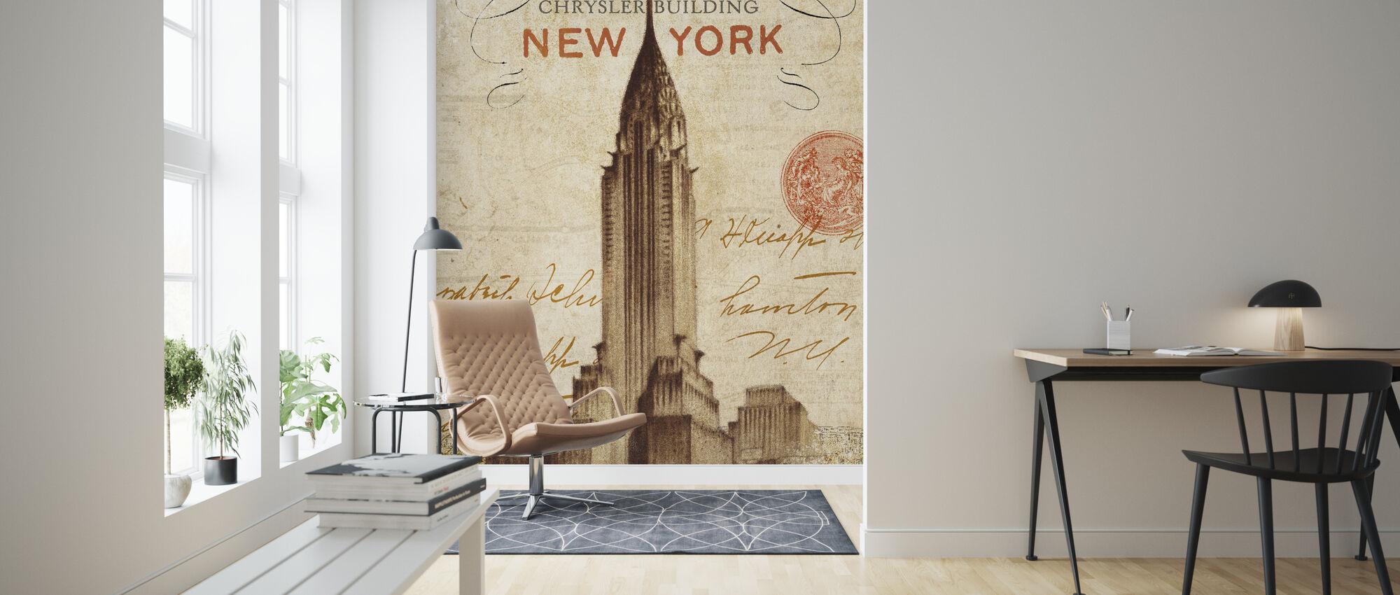 Brev fra New York - Tapet - Stue