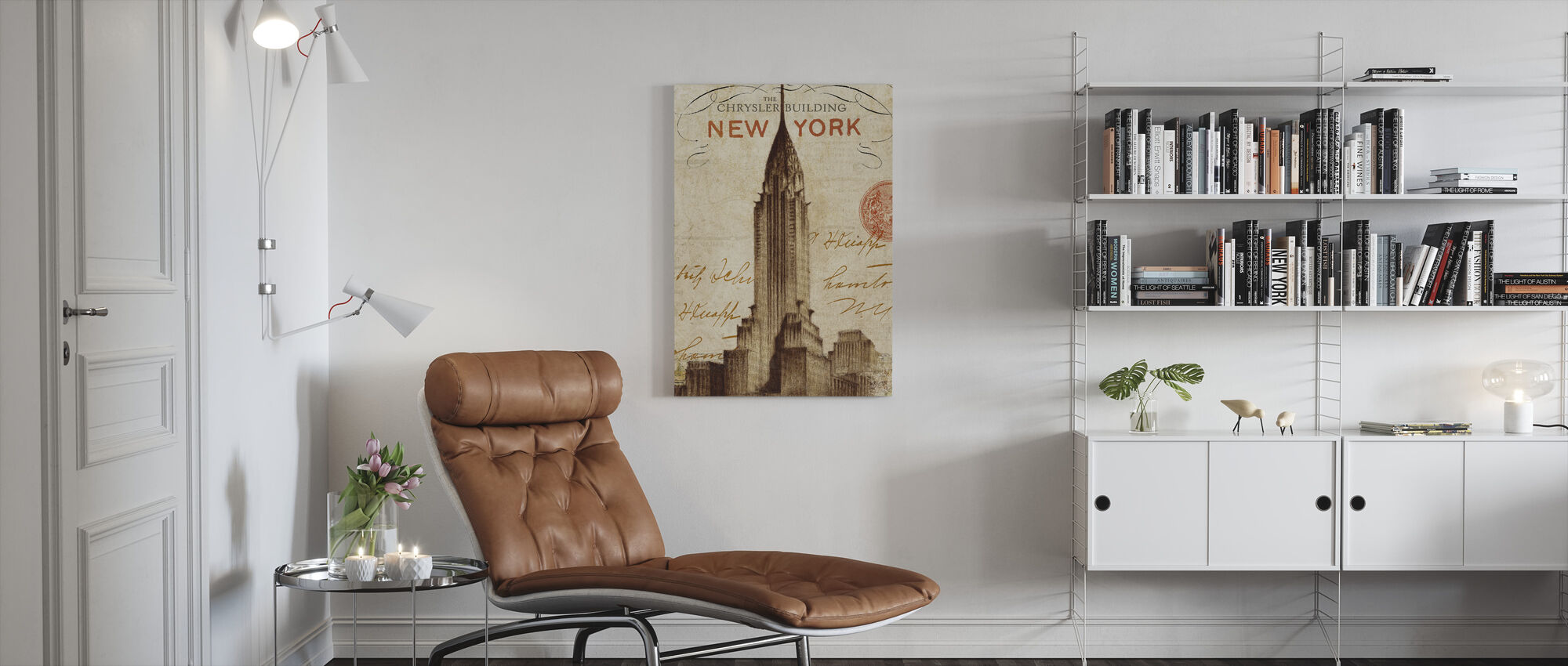 Letter from New York - Canvas print - Living Room