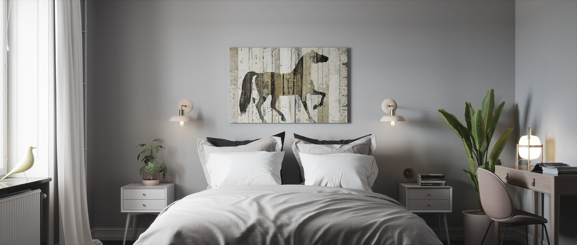 Dark Horse - Canvas print - Bedroom
