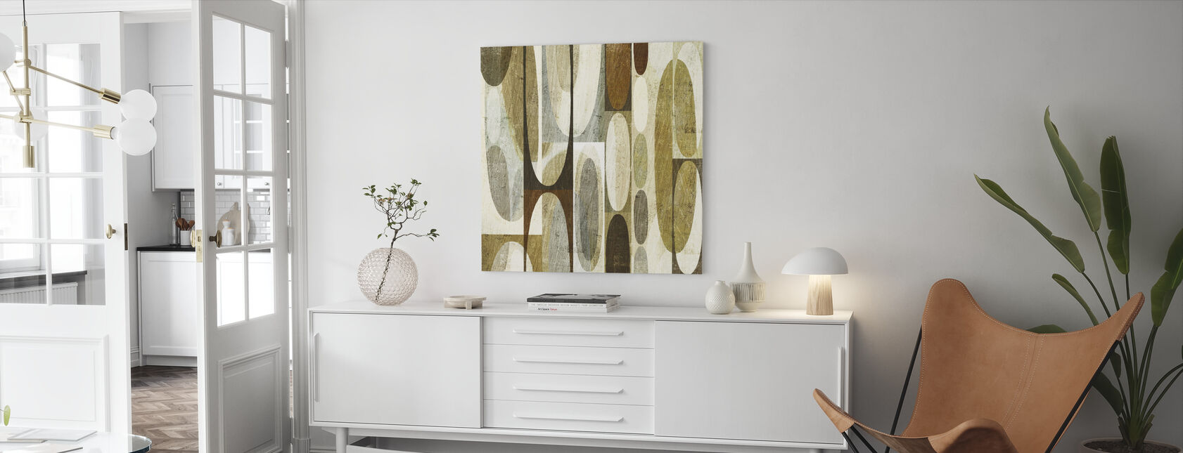 Mod Pods - Canvas print - Living Room