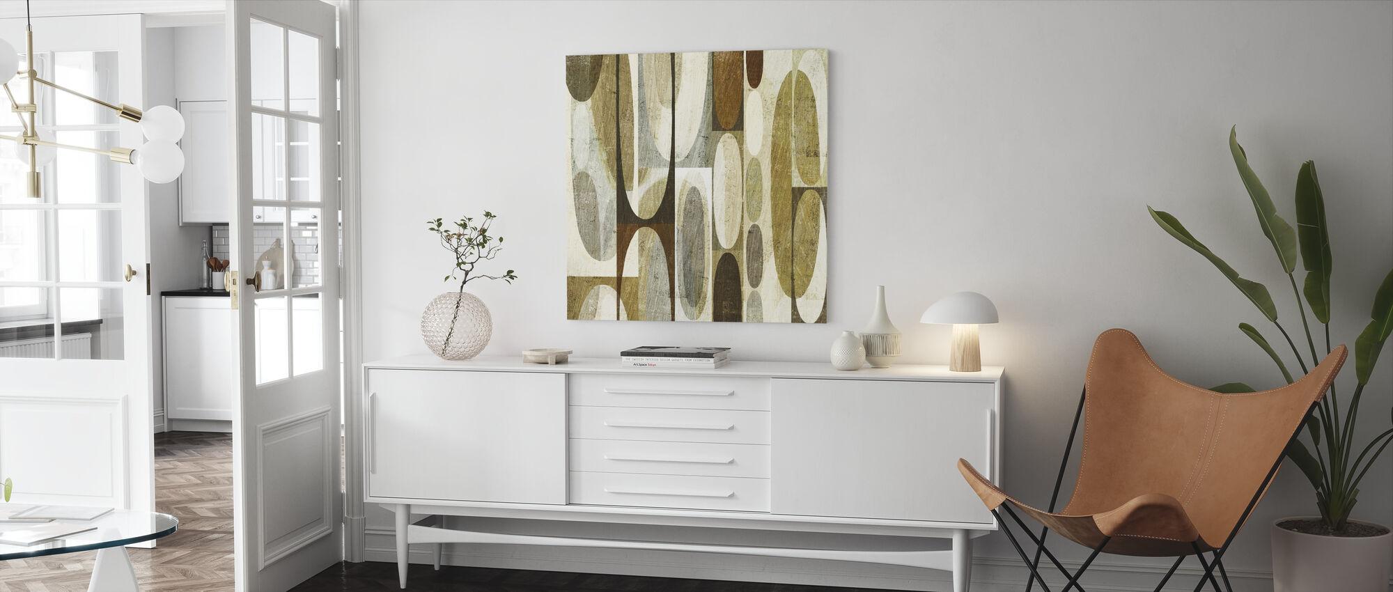 Mod Pods - Canvas print - Living Room