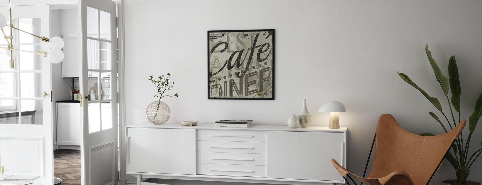 Ravintola Sign II - Kehystetty kuva - Olohuone