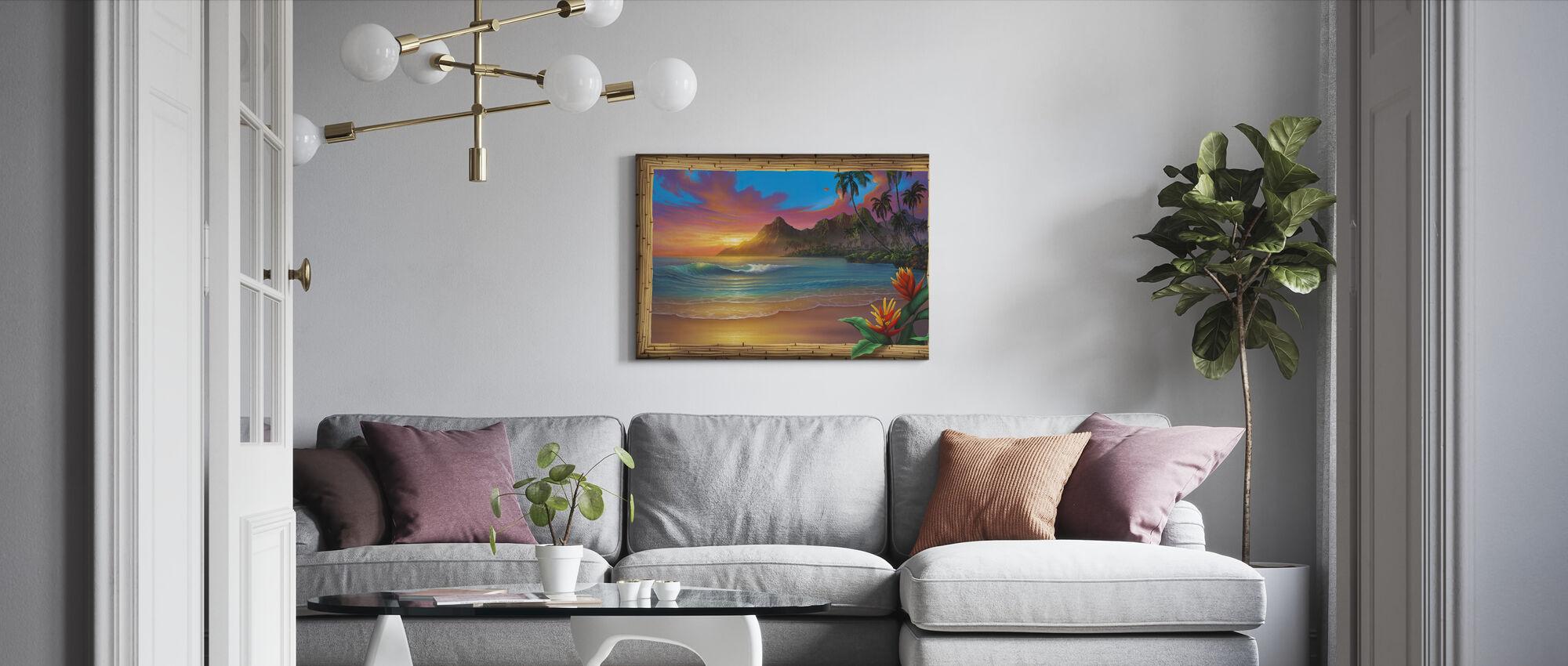 Voorbij het Paradijs - Canvas print - Woonkamer