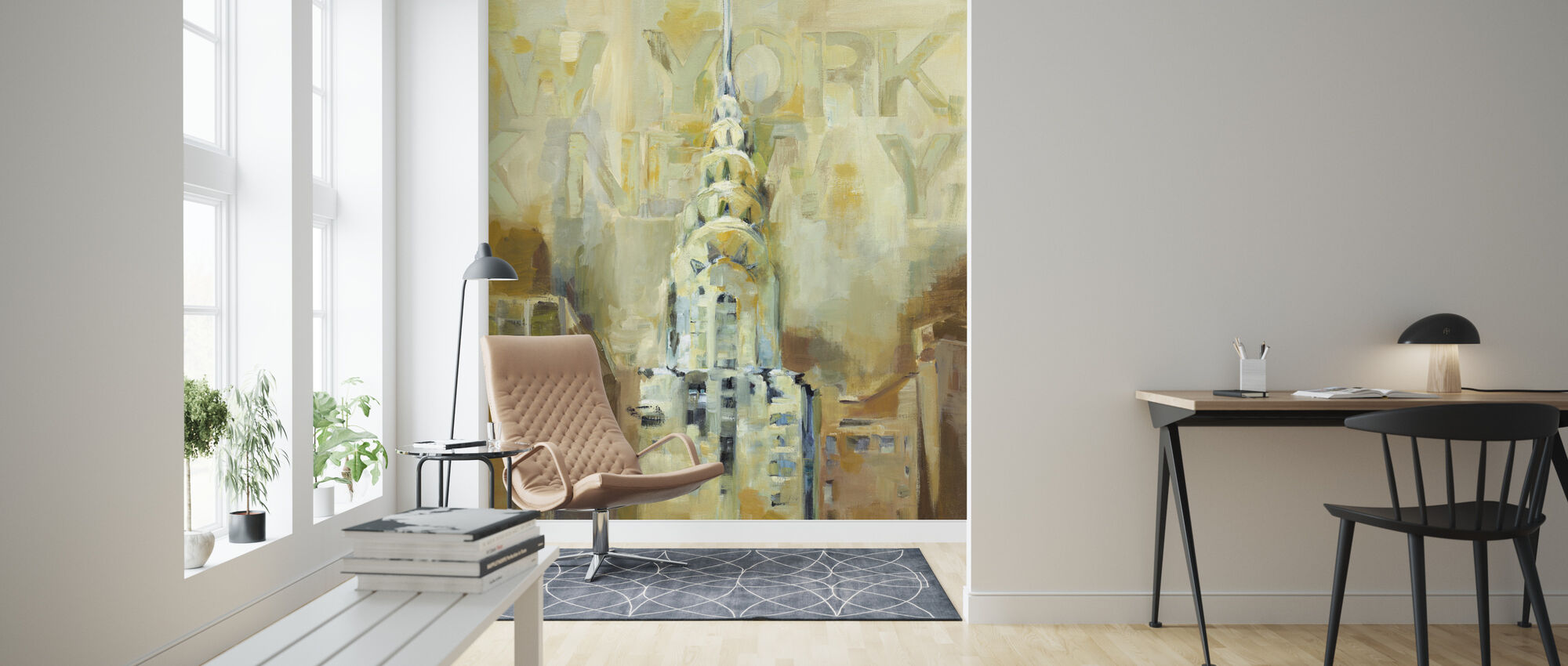 The Chrysler Building - Wallpaper - Living Room