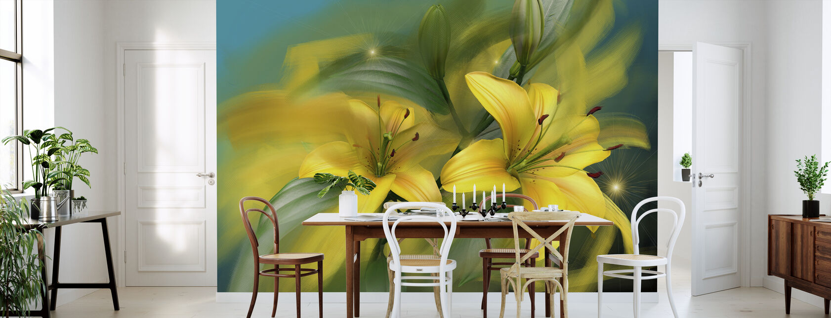 Flower Power - Wallpaper - Kitchen