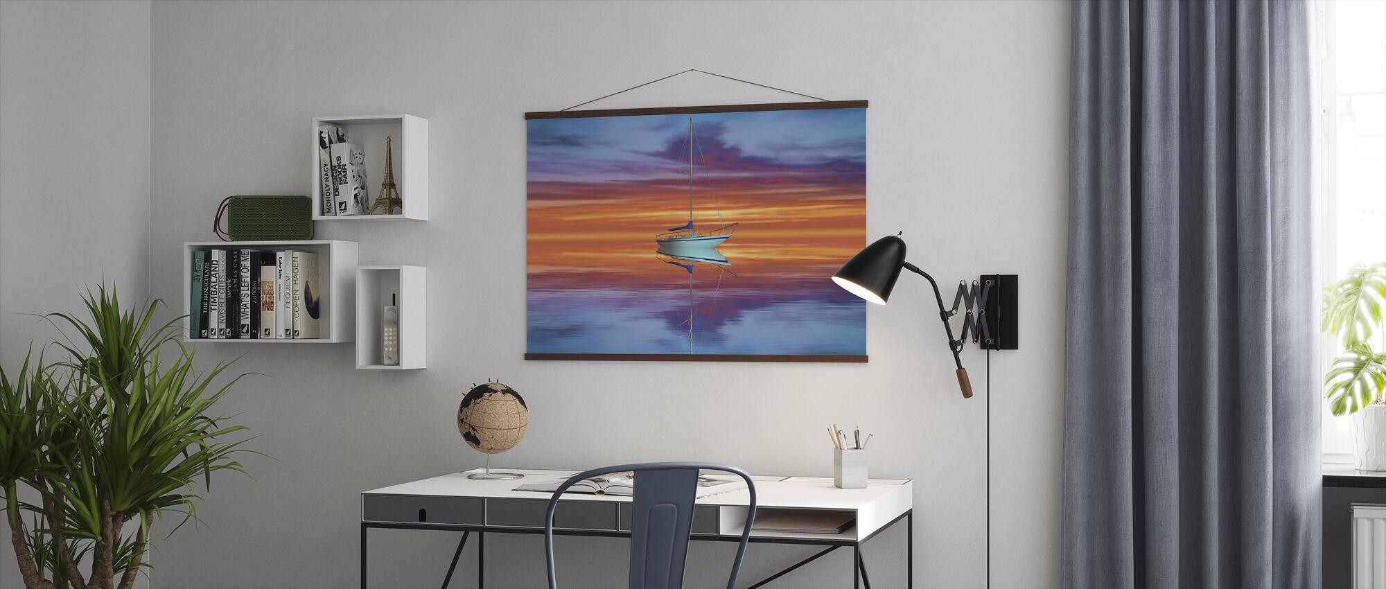 Golden Sunset - Poster - Office