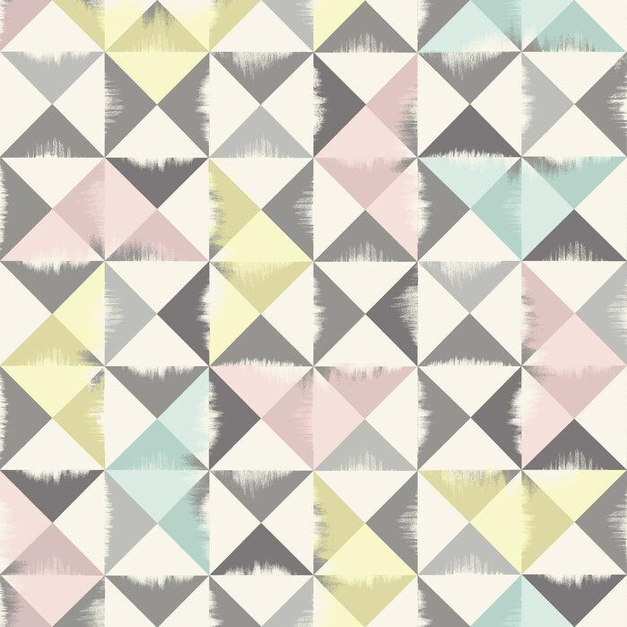 Triangle brush grey papel pintado exclusivo y de alta for Papel pintado personalizado