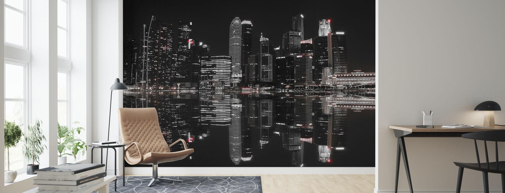 Yö Singaporessa - Tapetti - Olohuone
