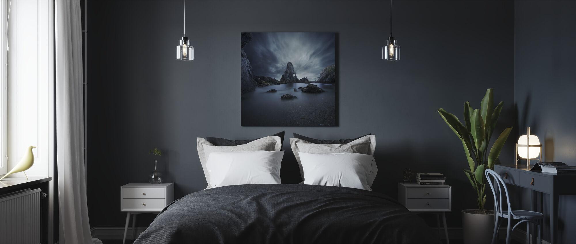 Rocks in Bretagne - Canvas print - Bedroom