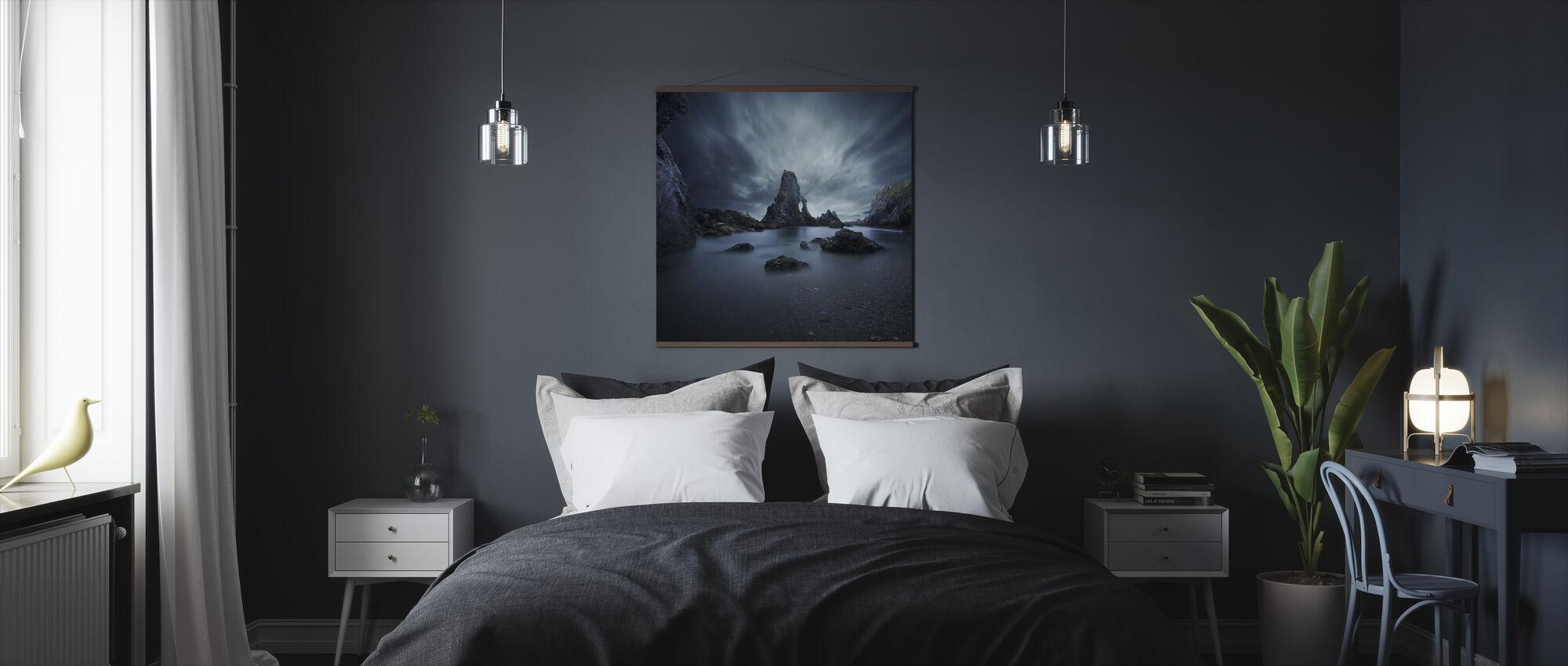 Rocks in Bretagne - Poster - Bedroom