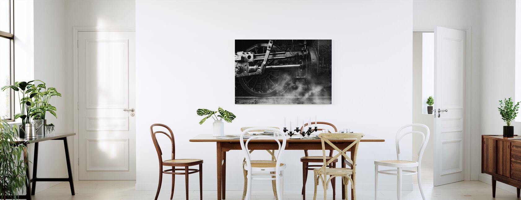Lokomotiv pust - Lerretsbilde - Kjøkken