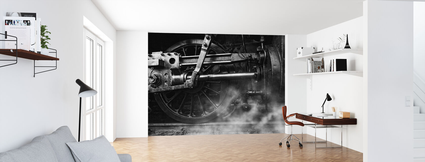 Locomotive Breath - Wallpaper - Office