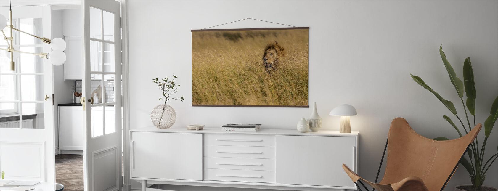 King - Poster - Living Room