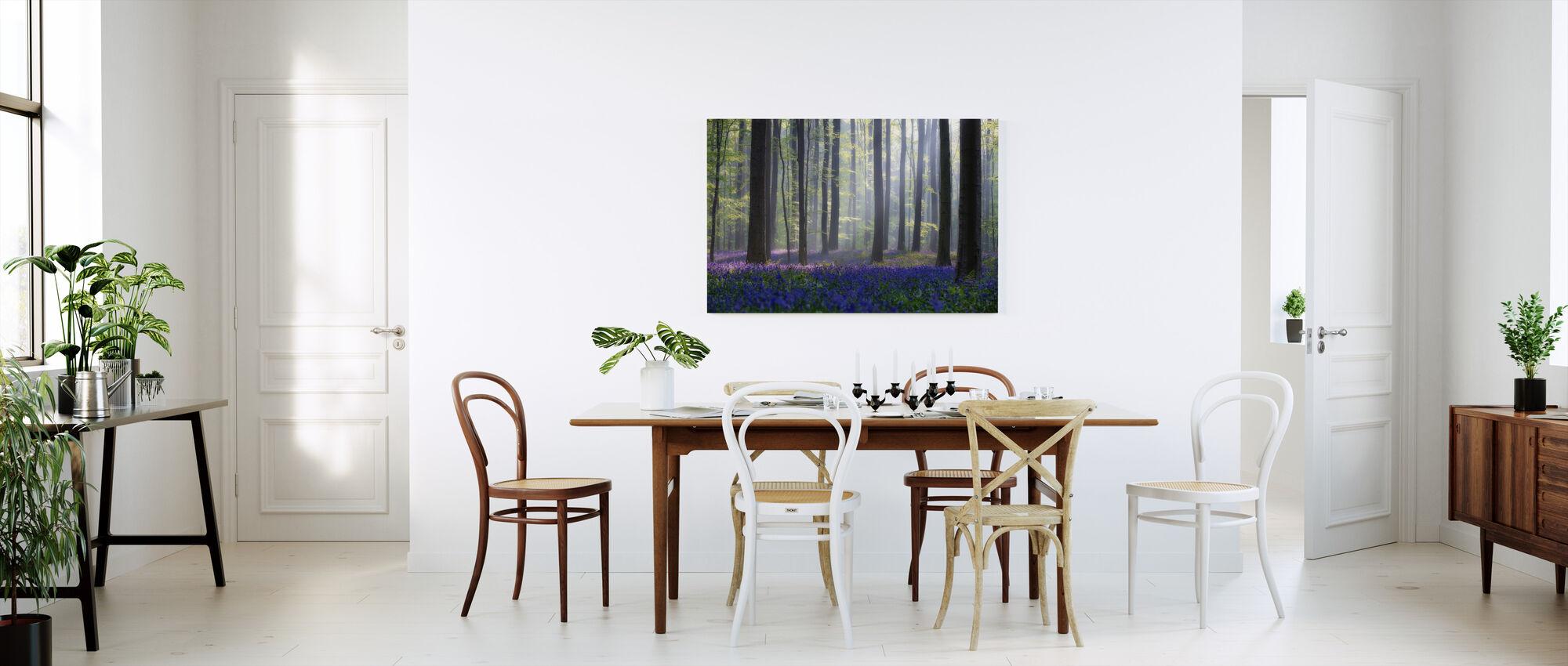Bluebells - Canvas print - Kitchen